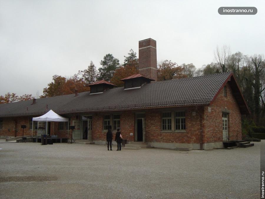 крематорий в концлагере Дахау