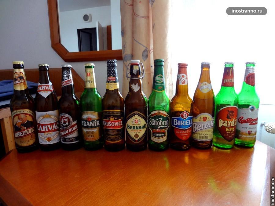 чешские марки пива