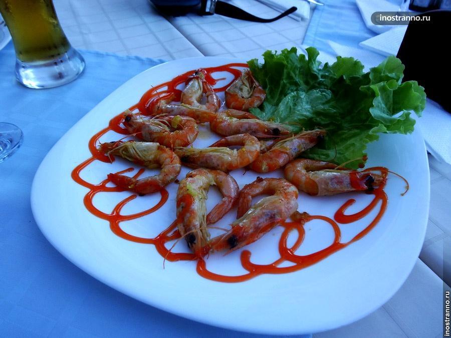 креветки в болгарии