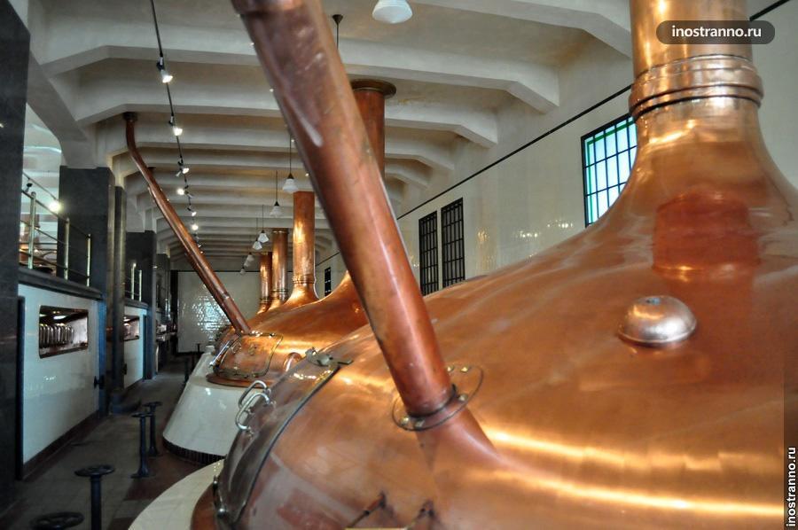 Пивоварение в Чехии - танки