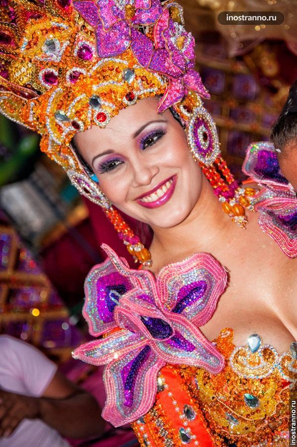 королева карнавала в панаме
