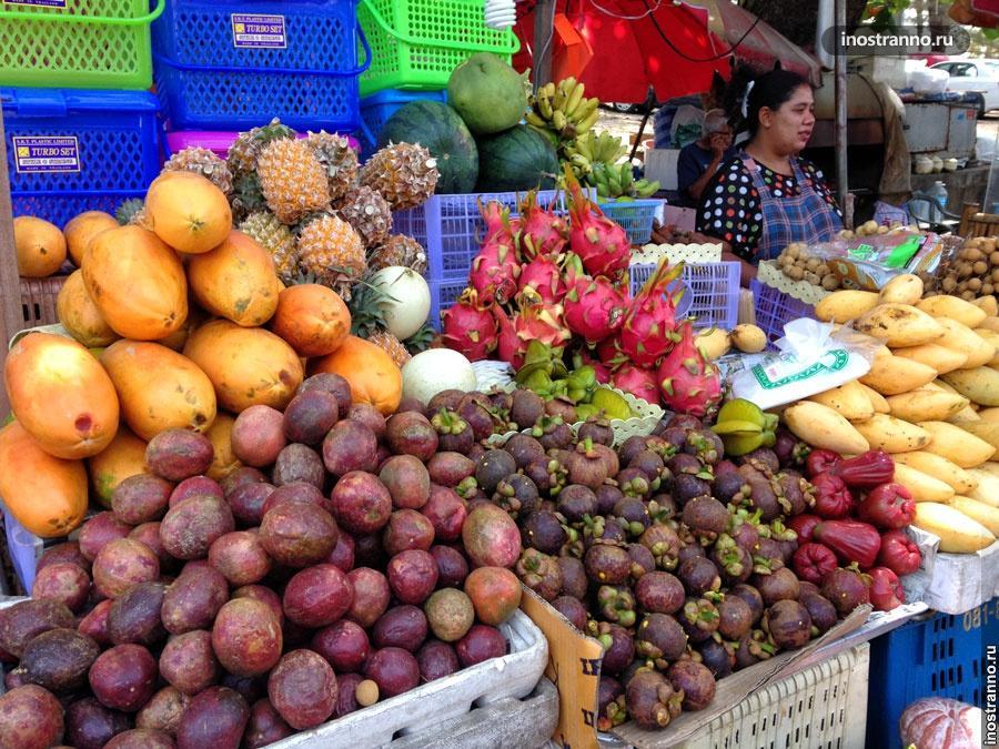 тропические фрукты тайланд