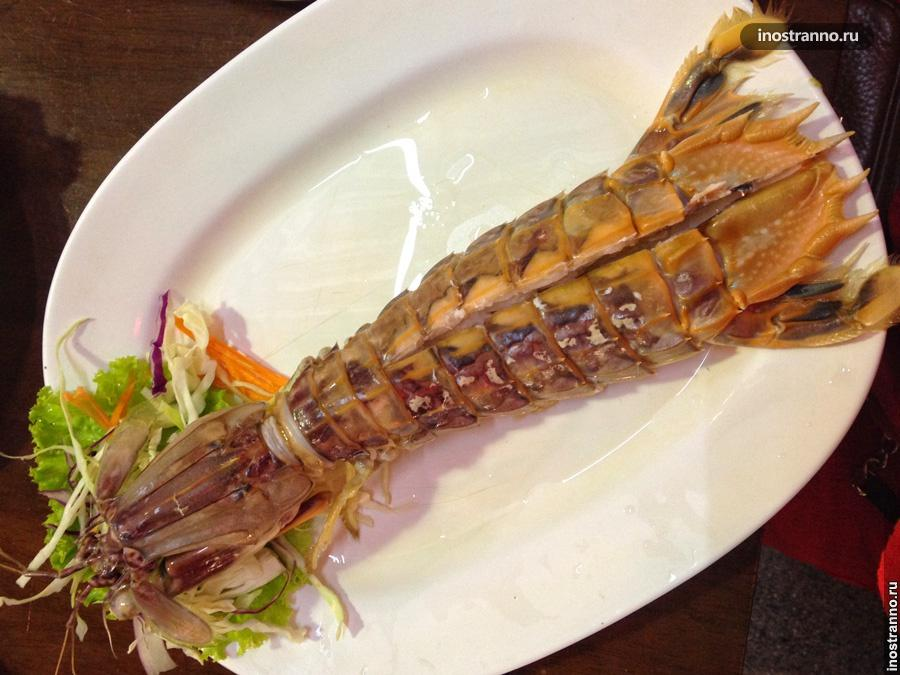 лобстер морепродукты тайланд
