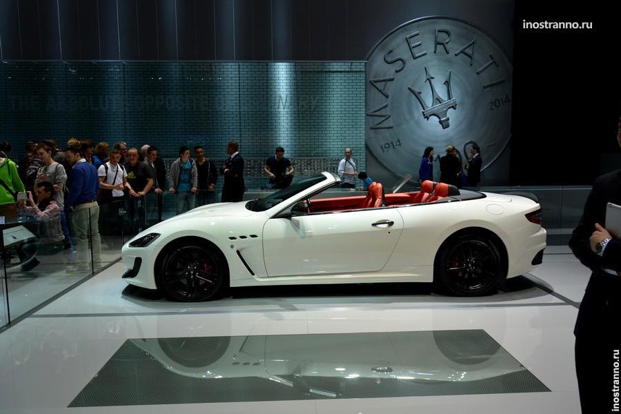 Кабриолет Maserati Grancabrio MC