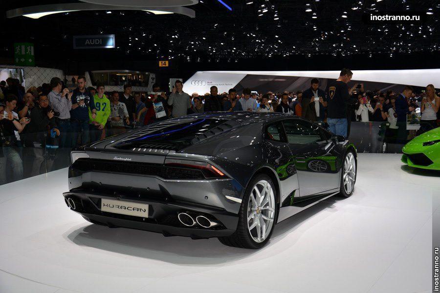 Lamborghini Huracán LP 610-4 на автосалоне в Женеве