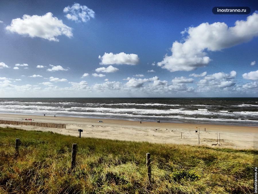 пляжный отдых в Нидерландах