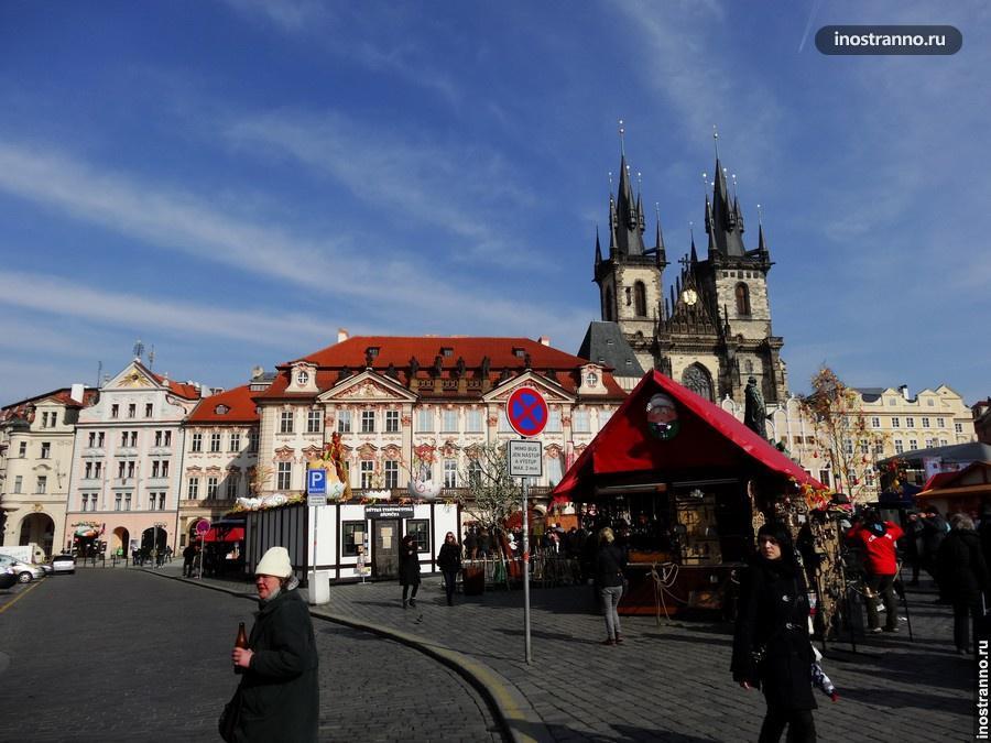 пасхальный рынок на староместской площади