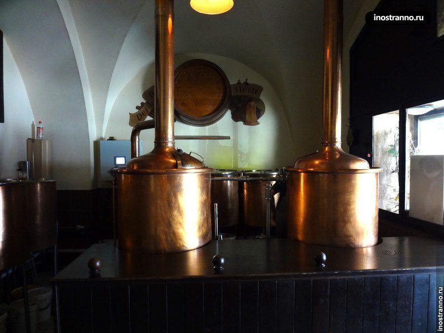 Пивоварня в Праге