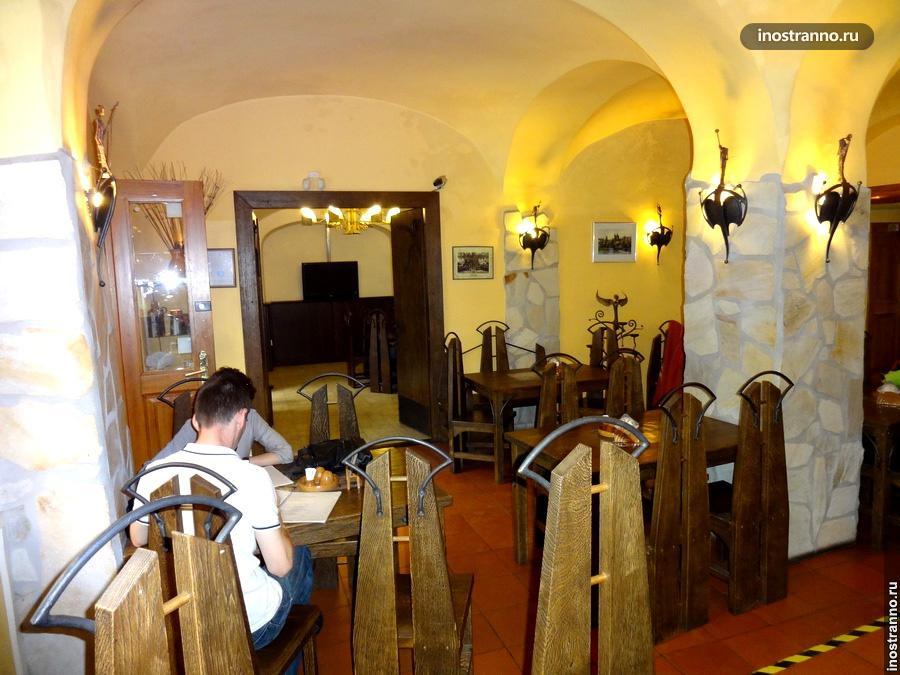 Ресторан в Праге Pražský Most U Valšů
