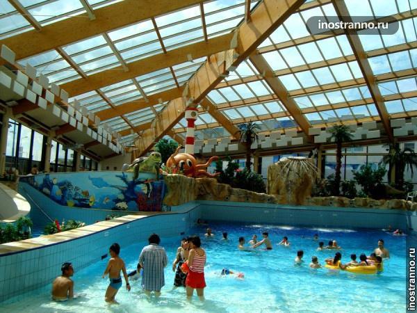 Отель с аквапарком в Праге Aquapalace Hotel Prague