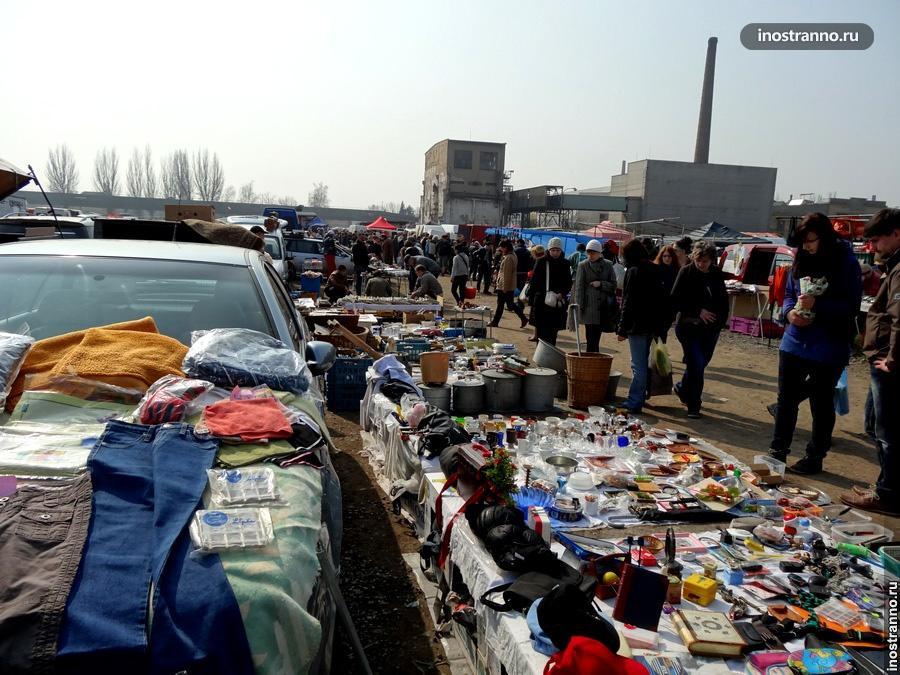 Рынок в Праге