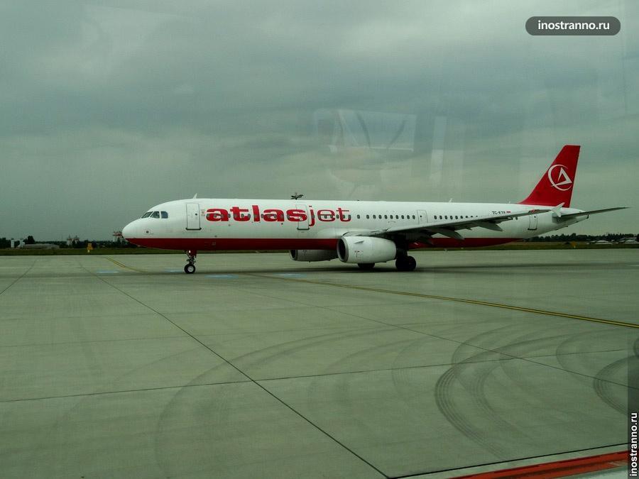 самолет atlasjet