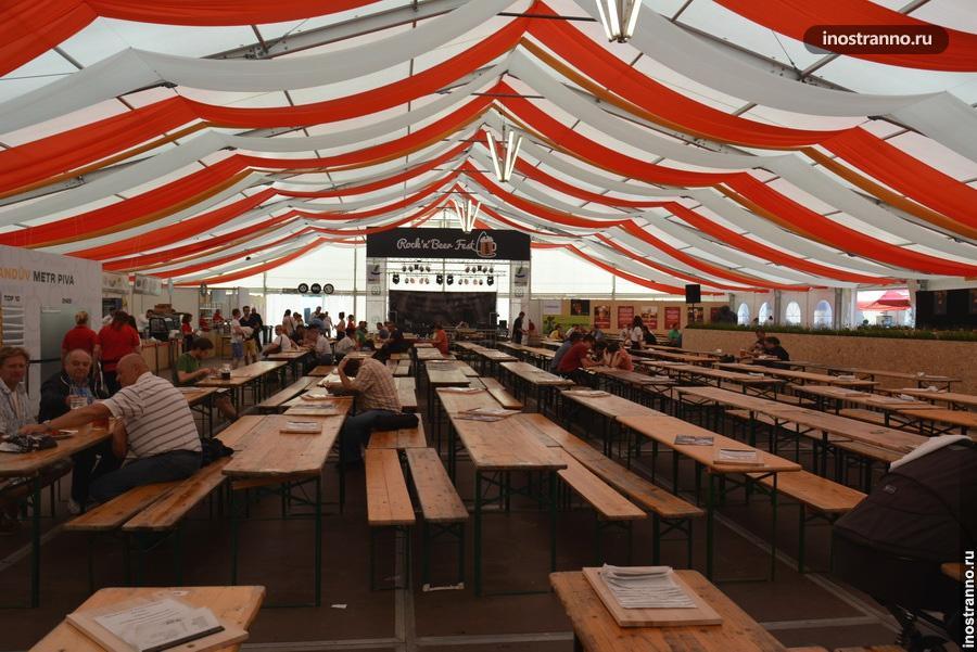 Палатка Пивного фестиваля