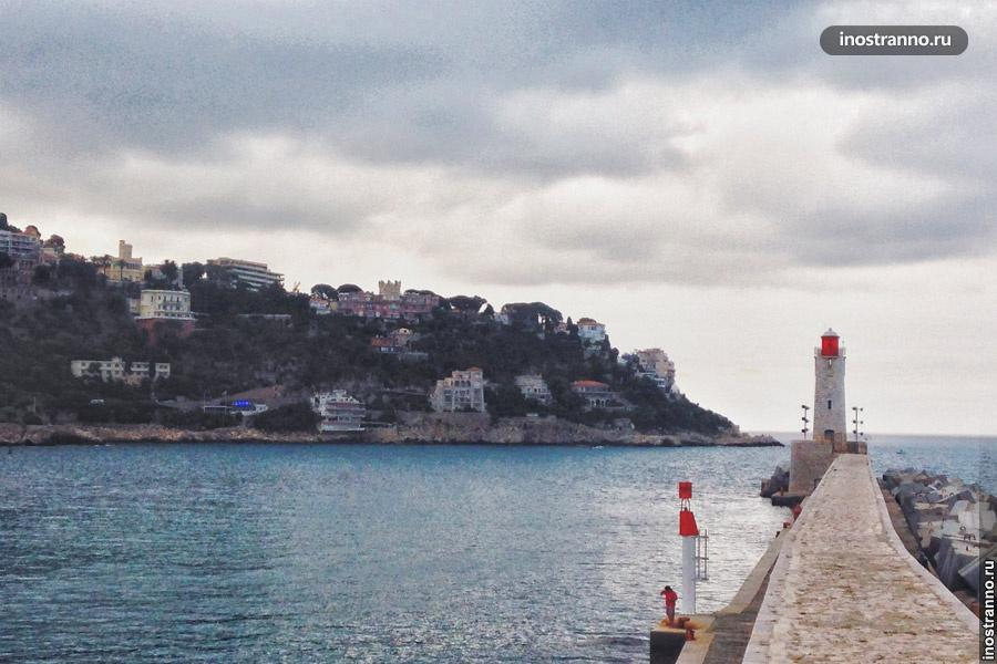 маяк порт ницца