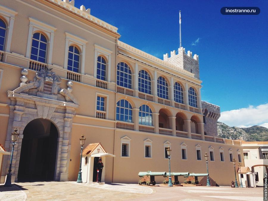 княжеский дворец монако
