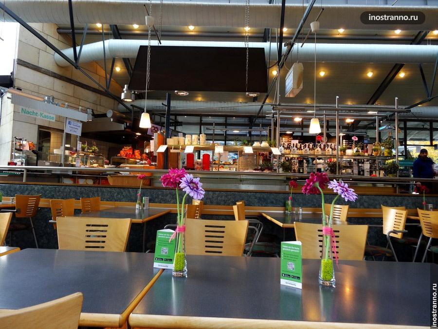 Придорожное кафе в Германии