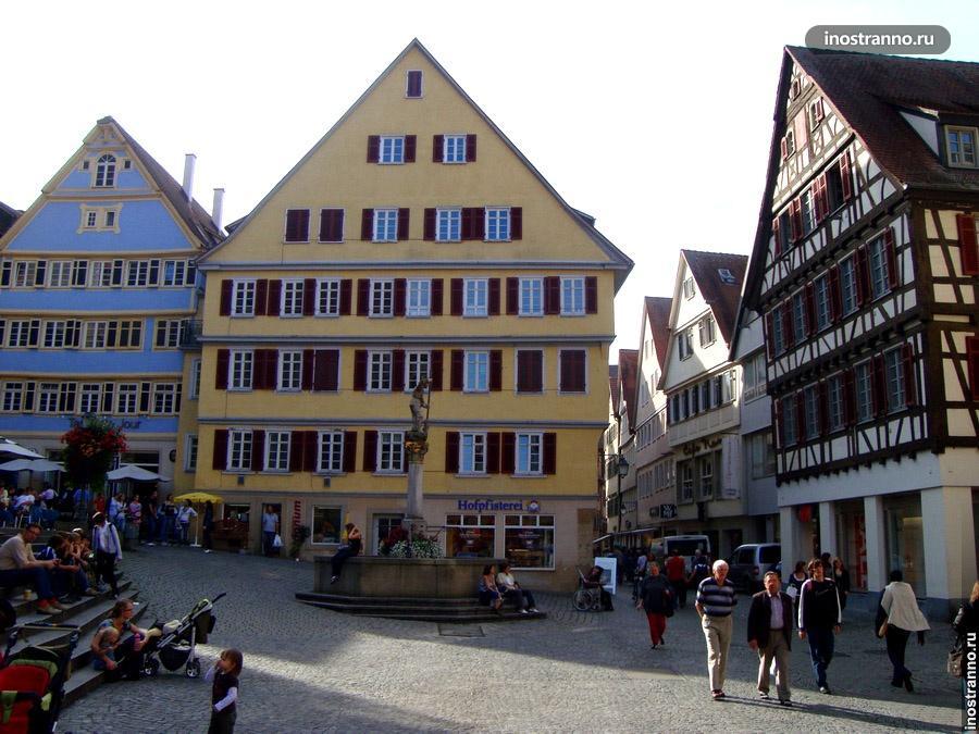 площадь в тюбингене