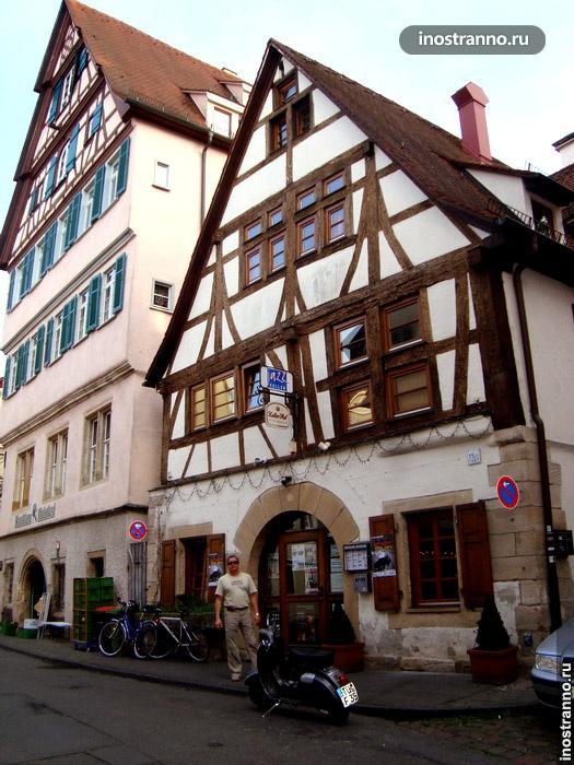 фахверковый дом в германии