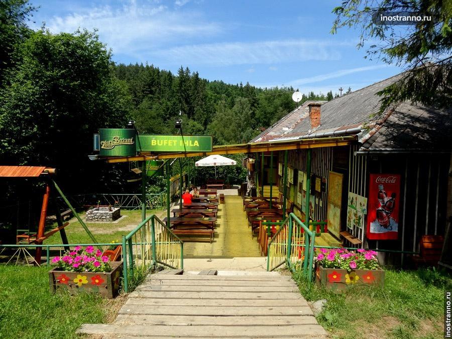 ресторан в словацком рае