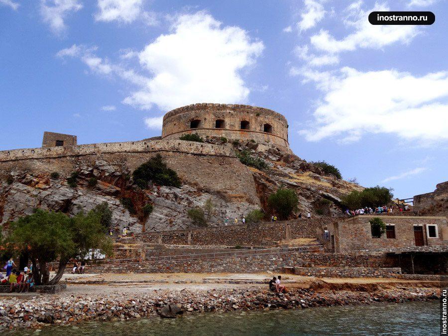 греческий остров спиналонга