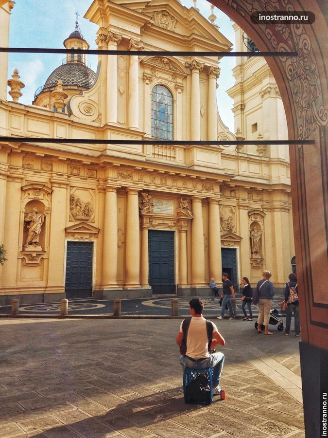 базилика маргариты антиохийской лигурия