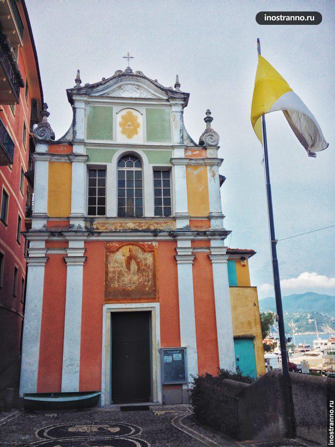 церковь эразмо лигурия