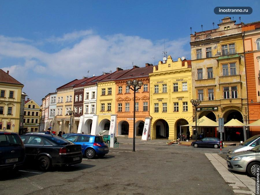 Большая площадь Градец-Кралове
