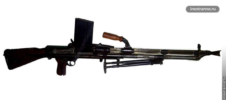 Чешский ручной пулемет ZB-26/30