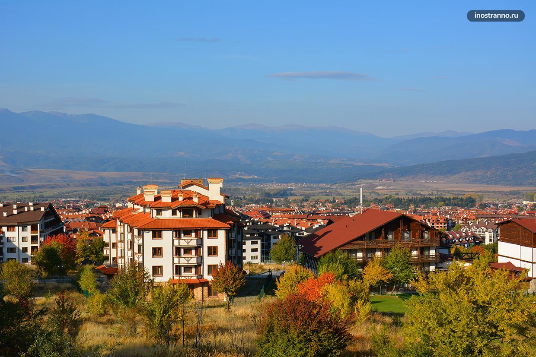 Банско интересный город в Болгарии, куда стоит съездить
