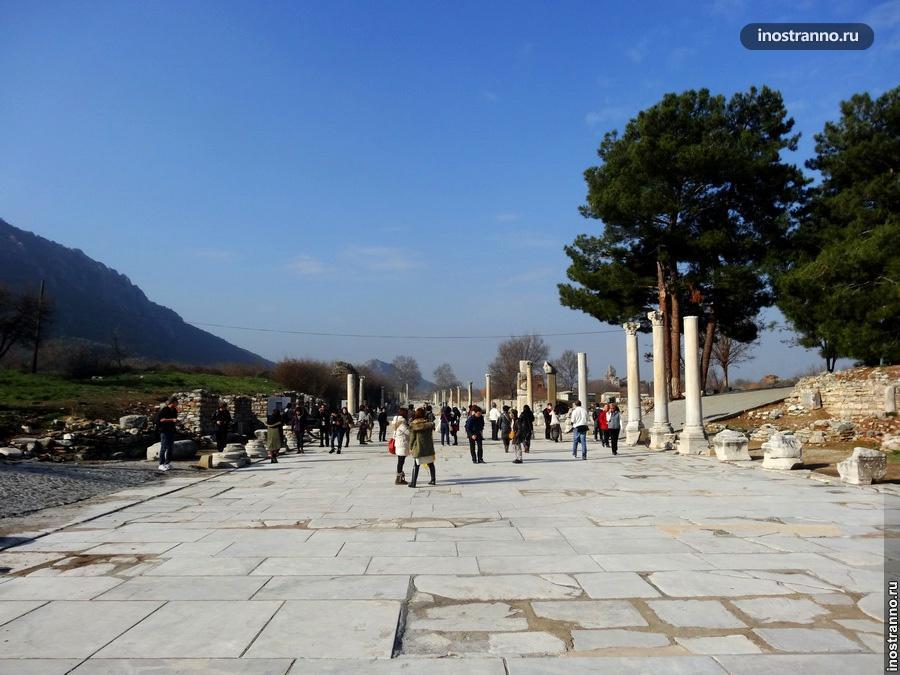 улицы древнего города эфес