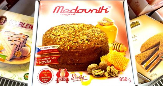 Мой любимый торт в Чехии — медовик