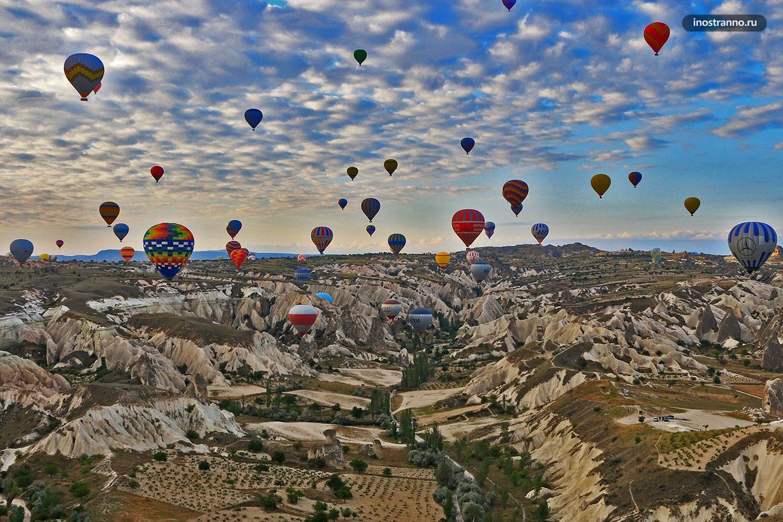 Полет на воздушном шаре по Каппадокии