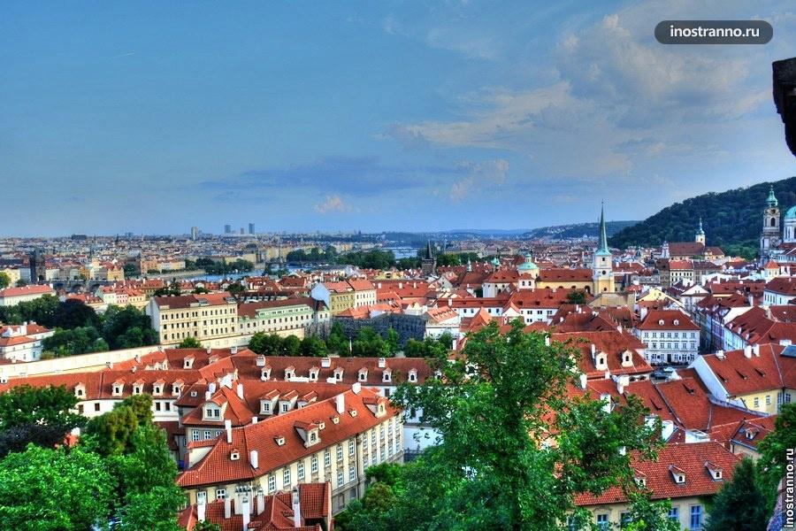 Фотография с Пражского града