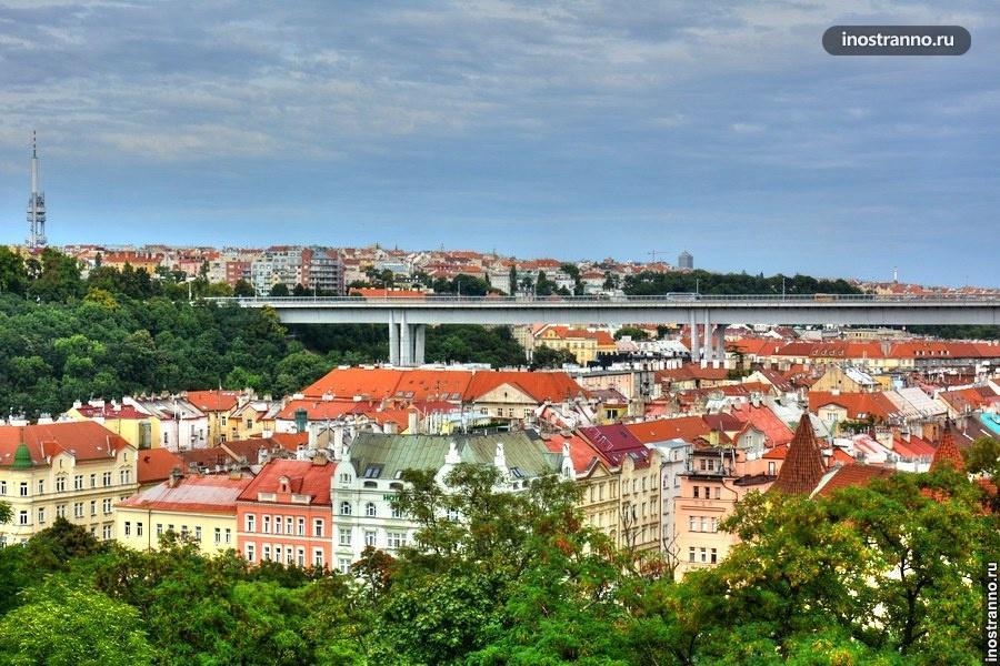 Нусельский мост в Праге