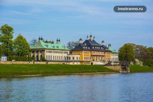 Замок Пильниц у Дрездена