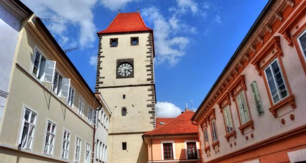 Городок Мельник в Чехии