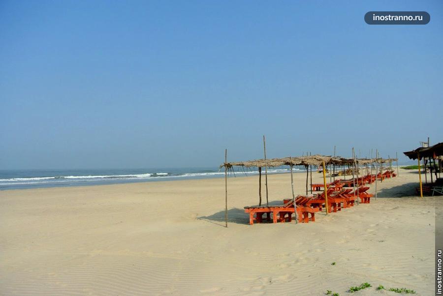 Пляж на ГОА