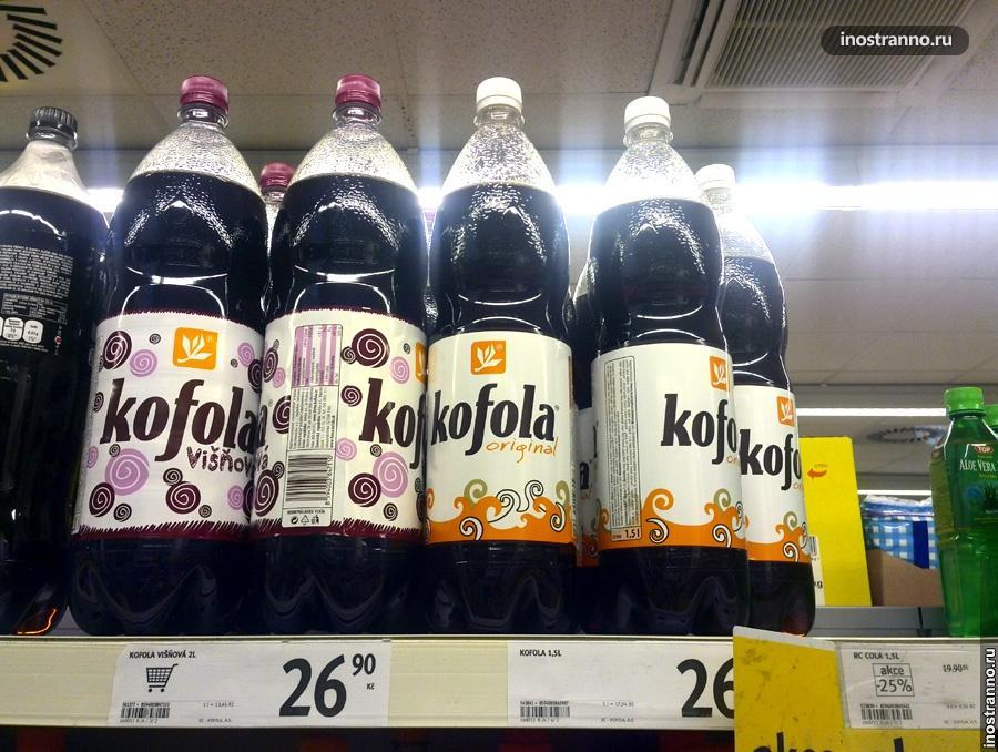 чешский напиток Kofola
