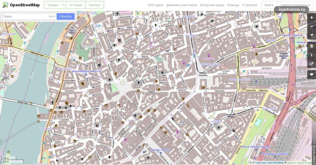 Карты OpenStreetMap