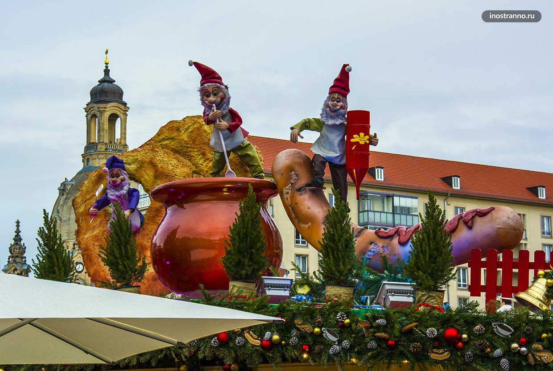 Даты проведения рождественских ярмарок в Дрездене