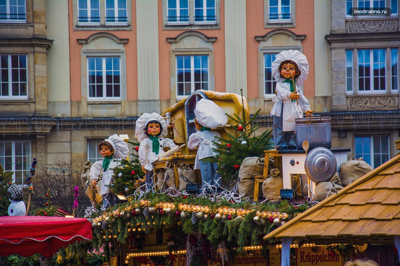 Адреса рождественских ярмарок Дрездена