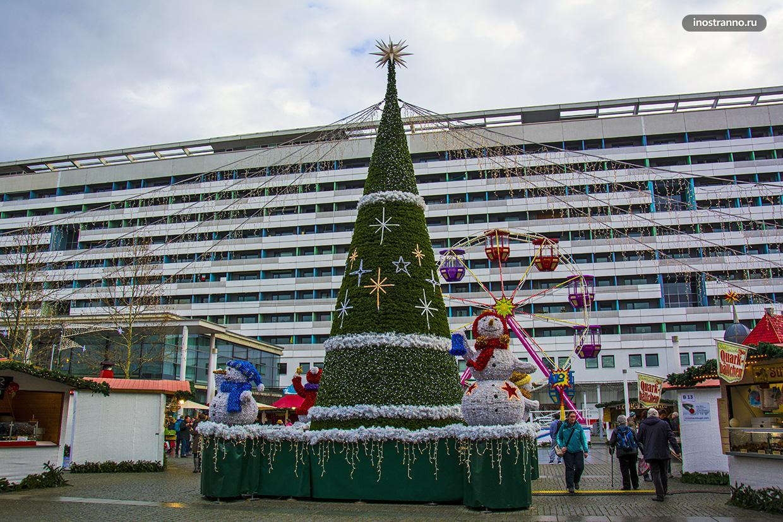 Новогодняя елка в Дрездене