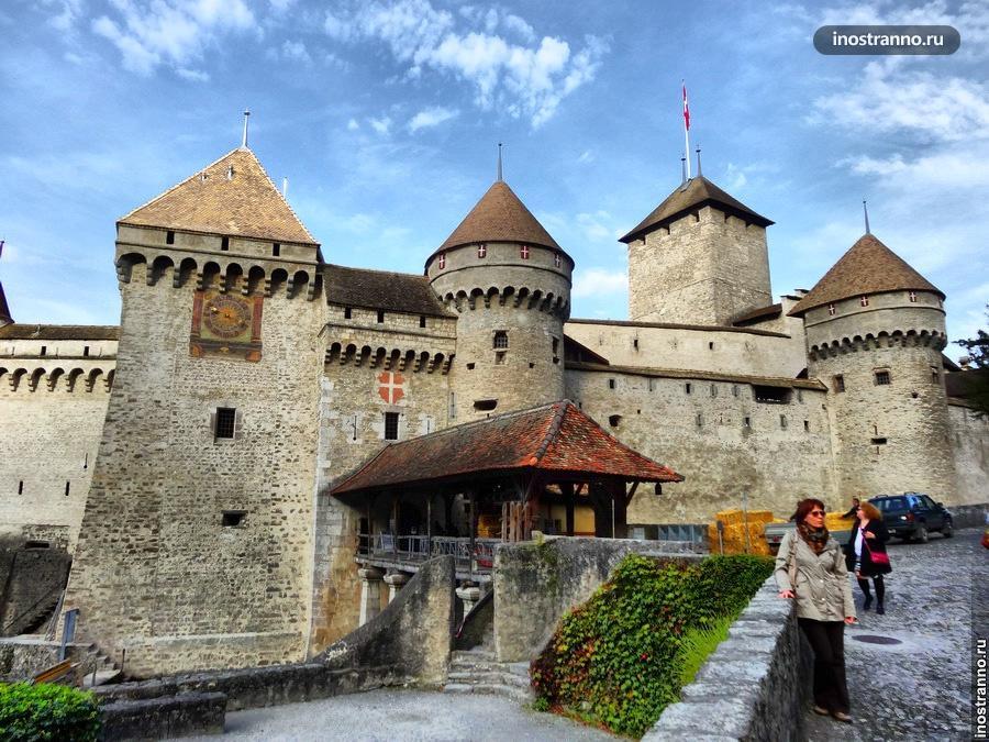 Шильонский замок (Château de Chillon)