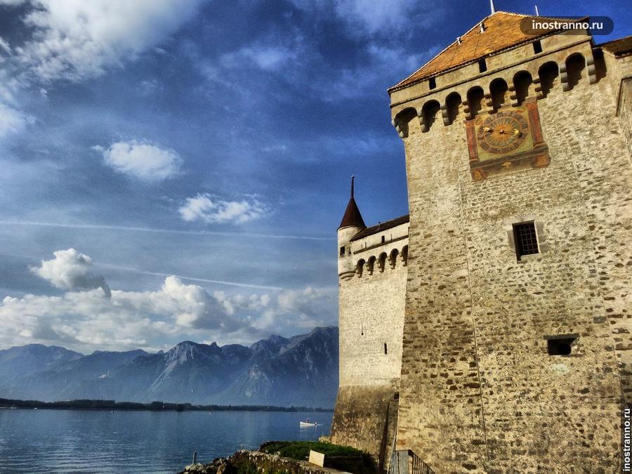 Шильонский замок - часы