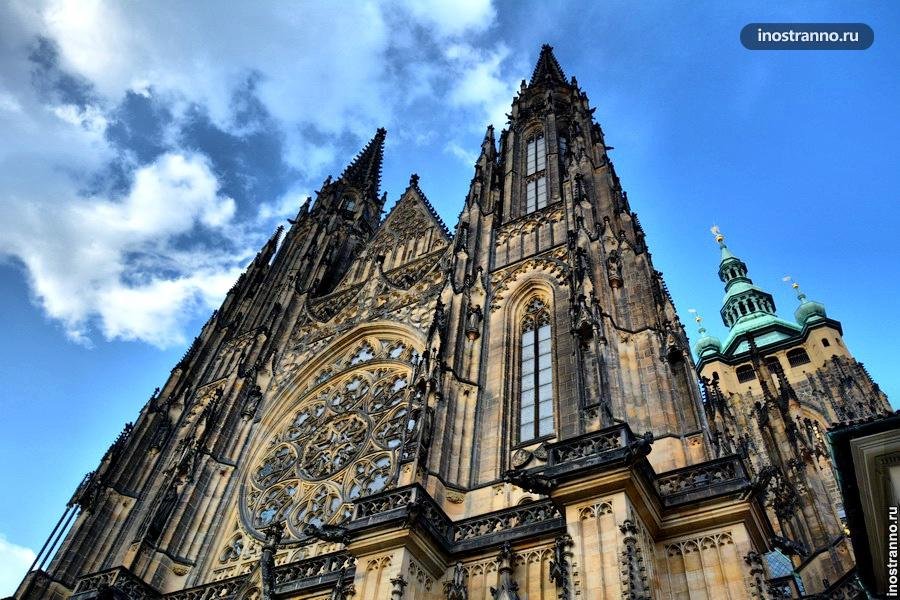 Пражский град - собор святого Вита