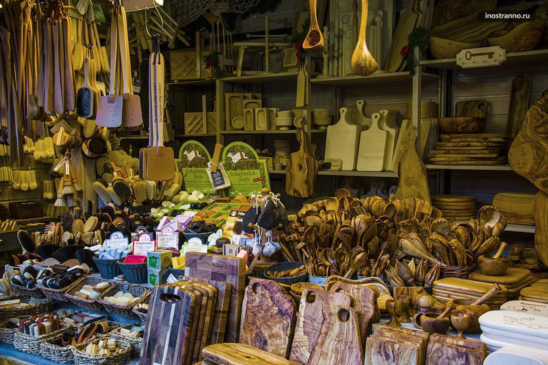 Что купить в Дрездене кухонная утварь ручной работы