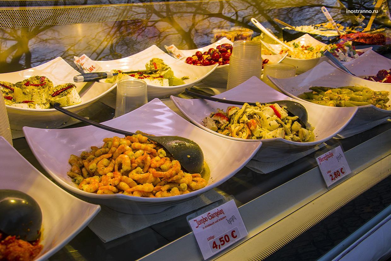 Цены на рождественском рынке в Дрездене