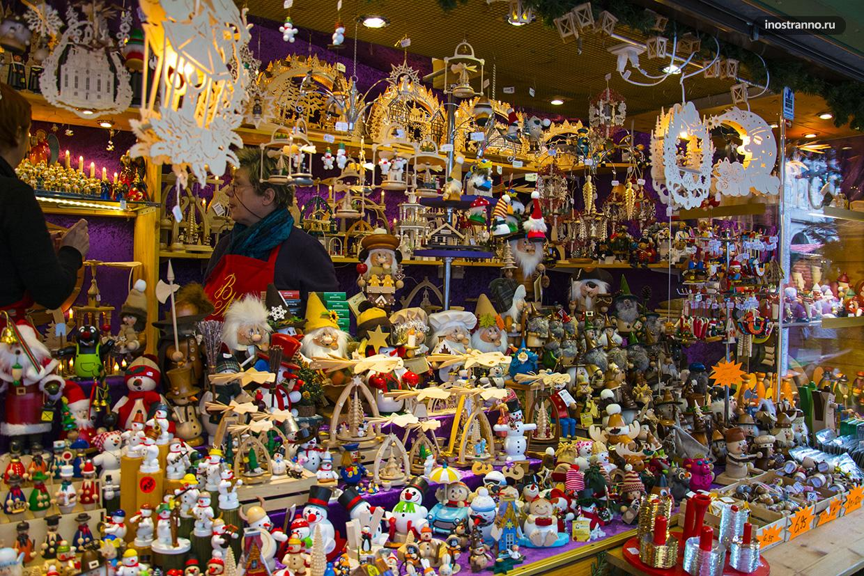 Подарки с рождественской ярмарки Дрездена