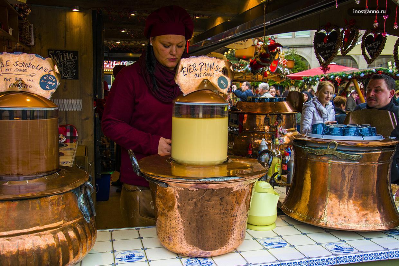 Какие напитки можно попробовать на рождественском рынке в Германии