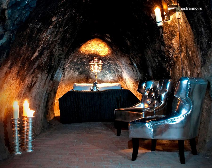 отель в шахте